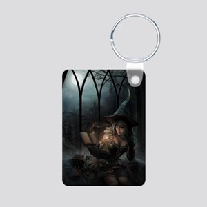 witchpretty_mini poster_12 Aluminum Photo Keychain