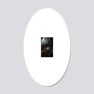 witchpretty_mini poster_12x1 20x12 Oval Wall Decal
