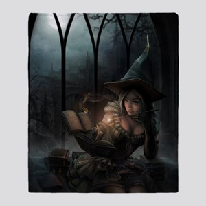 witchpretty_mini poster_12x18-fullbl Throw Blanket