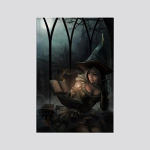 witchpretty_mini poster_12x18-ful Rectangle Magnet