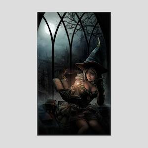witchpretty_mini poster_12x18- Sticker (Rectangle)