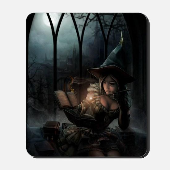 witchpretty_mini poster_12x18-fullbleed Mousepad