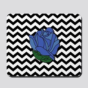 Blue Rose Mousepad