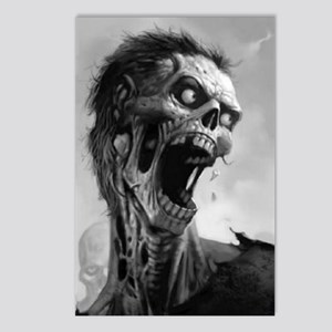 screamingzombievert_mini  Postcards (Package of 8)