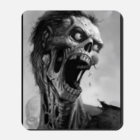 screamingzombievert_mini poster_12x18-fu Mousepad