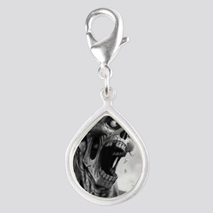 screamingzombievert_mini po Silver Teardrop Charm