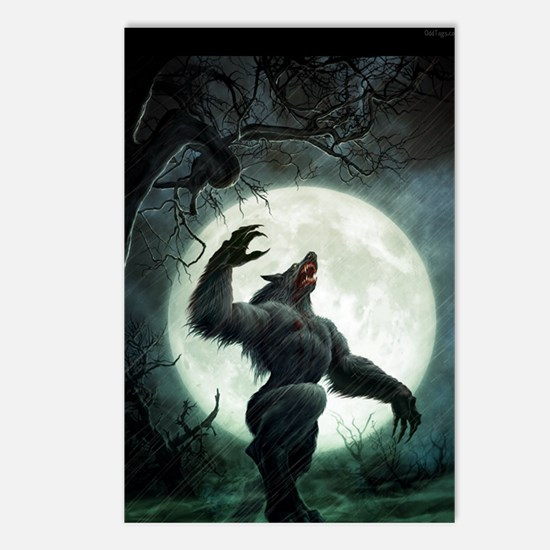 werewolf_mini poster_12x1 Postcards (Package of 8)