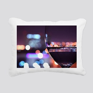 wine Rectangular Canvas Pillow