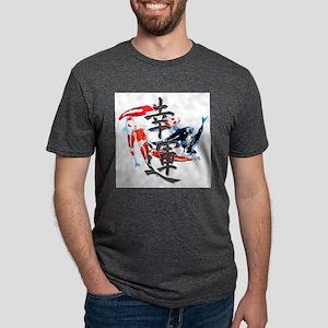 "Kanji ""Good Fortune"" w/ Koi T-Shirt"