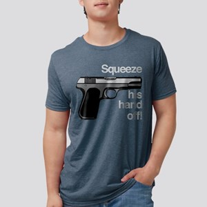 Squeeze His Hand Off Mens Tri-blend T-Shirt
