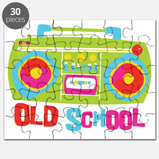 Old School Boom Box Puzzle