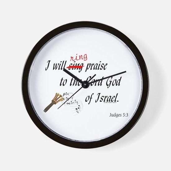 Ring Praise Wall Clock