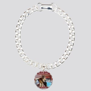 Magellan tote front Charm Bracelet, One Charm