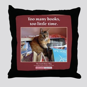 Magellan tote front Throw Pillow