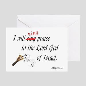 Ring Praise Greeting Cards (Pk of 10)