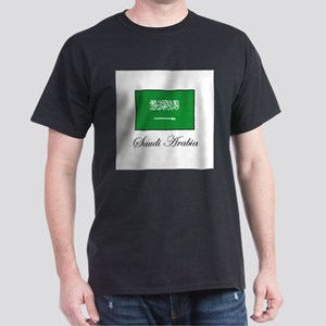 Saudi Arabia - Flag Dark T-Shirt