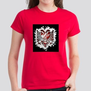 Albanian Women's Dark T-Shirt