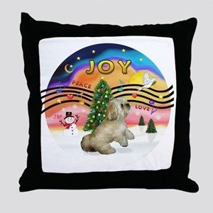 XMusic2-LhasaApso (R) Throw Pillow