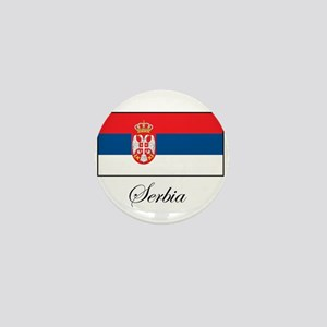 Serbia - Serbian Flag Mini Button