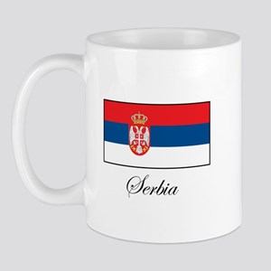 Serbia - Serbian Flag Mug