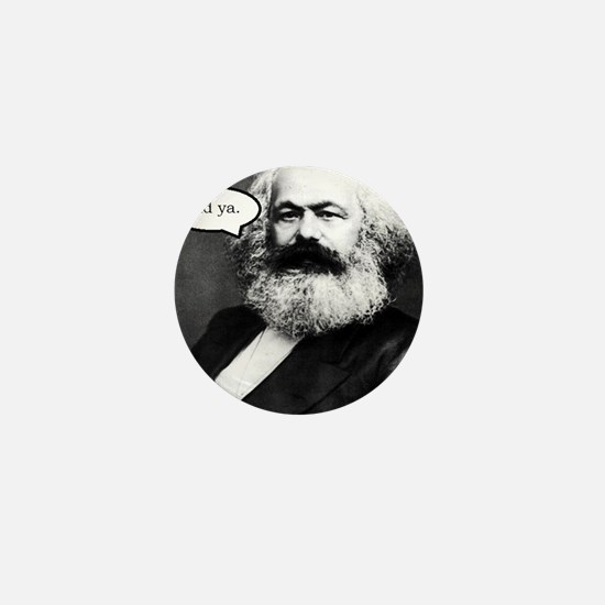 2-Karl Marx Mini Button