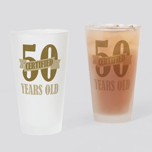Certified50 Drinking Glass