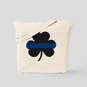 BLUELINE_pocket_notext Tote Bag