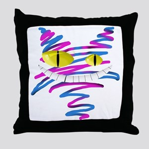 MT - Cheshire 2 - FINAL Throw Pillow