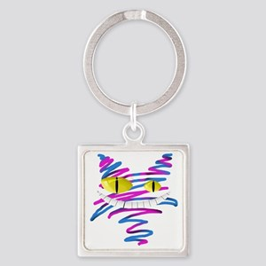 MT - Cheshire 2 - FINAL Square Keychain