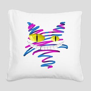 MT - Cheshire 2 - FINAL Square Canvas Pillow