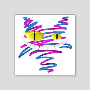 """MT - Cheshire 2 - FINAL Square Sticker 3"""" x 3"""""""