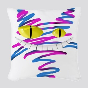 MT - Cheshire 2 - FINAL Woven Throw Pillow