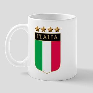 Italian 4 Star flag Mug