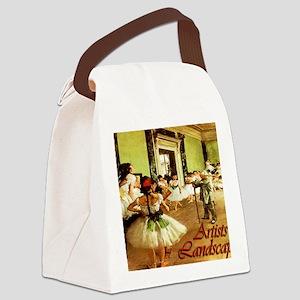 dance class calendar title Canvas Lunch Bag
