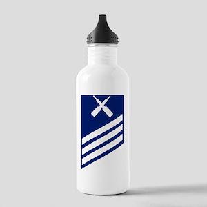 USCG-Rank-SNGM Stainless Water Bottle 1.0L
