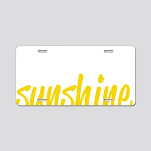 miss sunshine Aluminum License Plate
