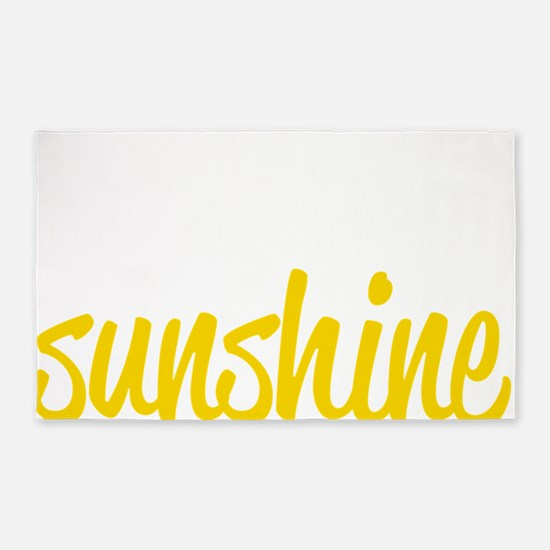miss sunshine 3'x5' Area Rug