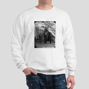 Lincoln by Matthew Brady Sweatshirt