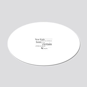 bible-verse. 20x12 Oval Wall Decal