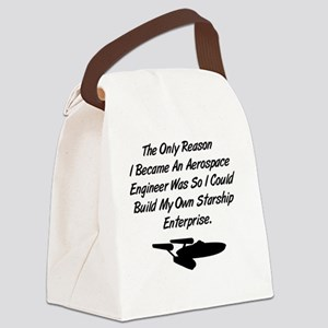 stengineer_sq Canvas Lunch Bag