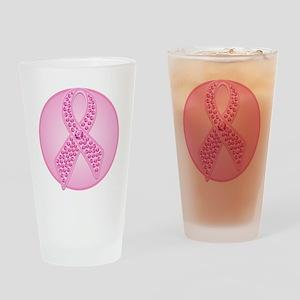 BCGemRibbonTRc Drinking Glass