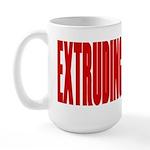 Extruding America Large Mug