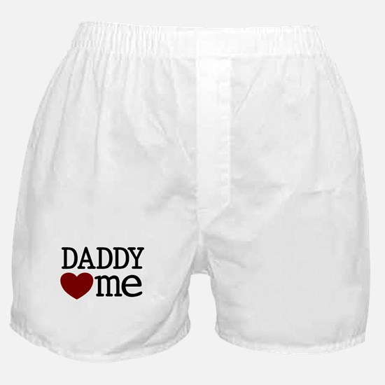 Daddy Heart Me Boxer Shorts