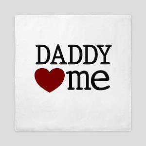 Daddy Heart Me Queen Duvet
