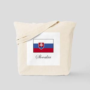 Slovakia - Slovakian Flag Tote Bag
