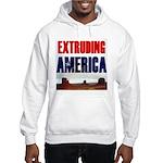 Extruding America Hooded Sweatshirt