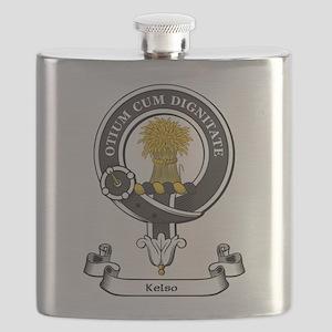 Badge-Kelso Flask