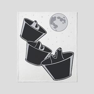 3-wolves-moon-DKT Throw Blanket