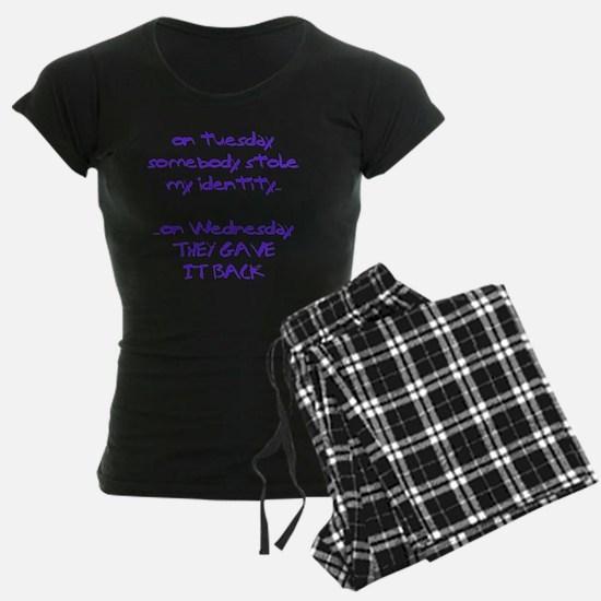 ID theft copy Pajamas