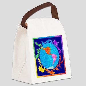 peaceablekingdom Canvas Lunch Bag